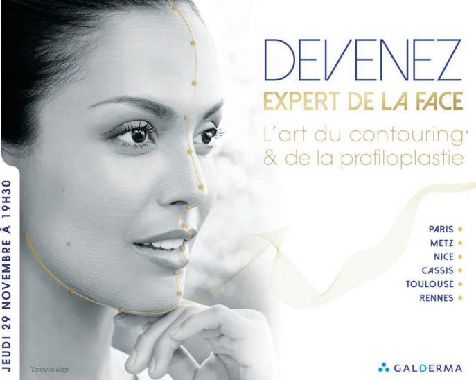 Masterclass : Devenez expert de la face, l'art du contouring et de la profiloplastie